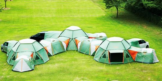 popup-abode camping